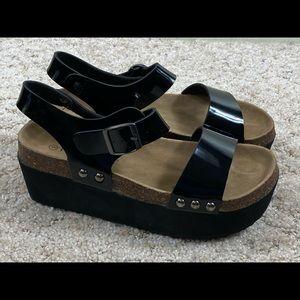Pierre Dumas platform sandals Shoes Womens Size 9